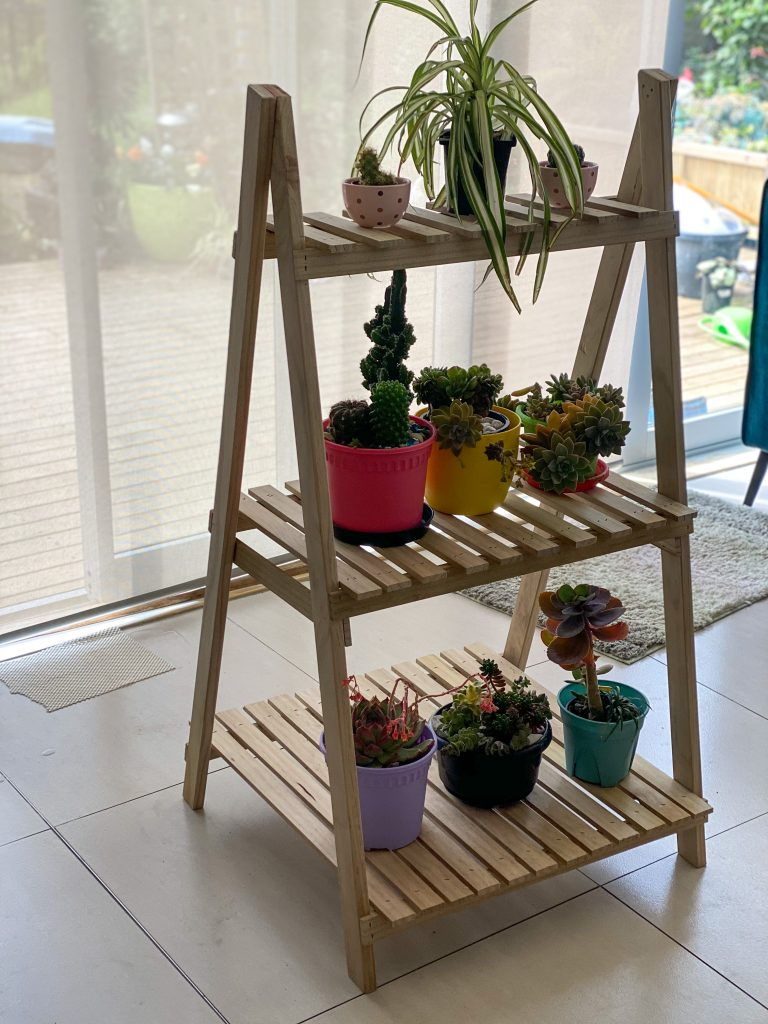 A plant stand